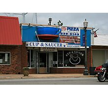 Cup & Sauser restaurant Photographic Print