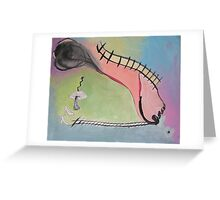 On your own feet! Greeting Card