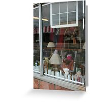 Window shopping Greeting Card