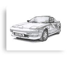 Toyota MR2 Canvas Print