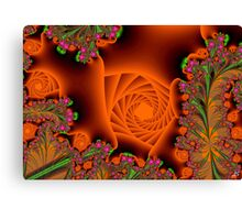 Blooming in a cave Canvas Print