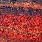 Australian Desert Aerial by Dennis Pal