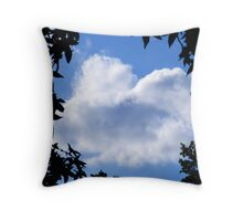 Always looking up at the heavens~ Throw Pillow