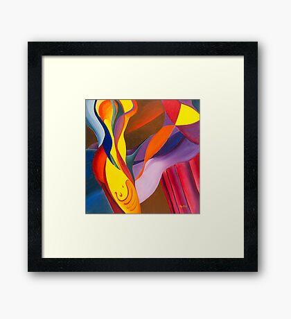 Bodyflow Framed Print