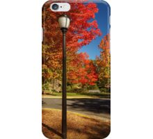 Lamp Post On The Corner iPhone Case/Skin