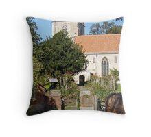 Dorchester Abbey, Oxfordshire, England Throw Pillow