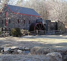 Old Mill in Sudbury Massachusetts by KellyGirl