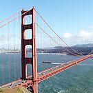 Golden Gate Bridge and San Francisco by KellyGirl