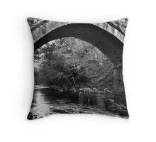 River Dart in Devon Throw Pillow