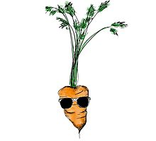 Tarrot the Carrot (colour) Photographic Print