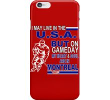 Heart & Soul in Montreal (red) iPhone Case/Skin
