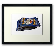 Pokemon Cards  Framed Print