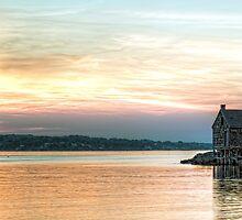 Willard Beach Sunrise by Richard Bean