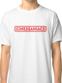 Cinemaniacs LOGO [on white] Classic T-Shirt
