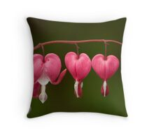 Hearts Progression Throw Pillow