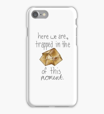 the amber of a moment iPhone Case/Skin
