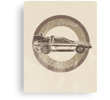 Marty McFly's ride Canvas Print