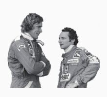 Hunt and Lauda by rocknrolljunkie