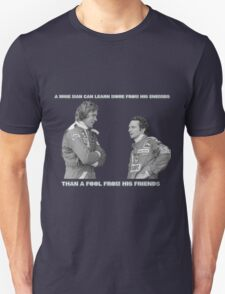 Best Enemies - real life Unisex T-Shirt