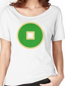 Minimalist Earth Kingdom Emblem Women's Relaxed Fit T-Shirt