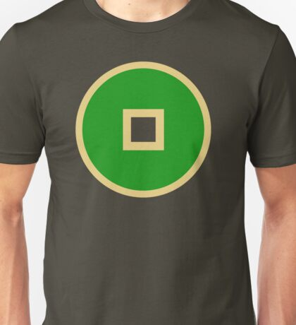 Minimalist Earth Kingdom Emblem Unisex T-Shirt