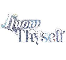 Know Thyself by brenda mangalore