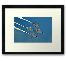 U.S. Air Force Thunderbirds Framed Print