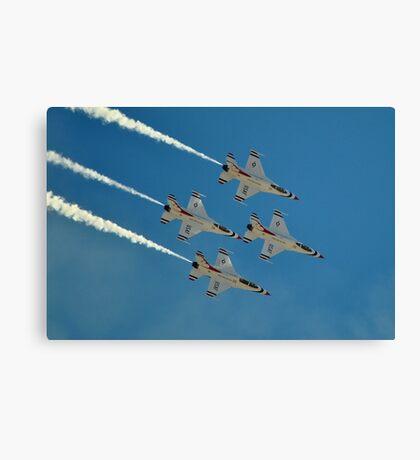 U.S. Air Force Thunderbirds Canvas Print