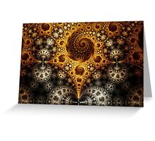 Mobius Fractal Greeting Card