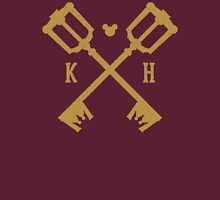Crossed Kingdom Keys Unisex T-Shirt