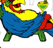 Lambda Chi Alpha Margaritaville  Sticker