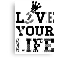 Live Love Your Life V2 | OG Collection Canvas Print