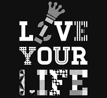 Live Love Your Life [White Ink Version 1] | OG Collection Unisex T-Shirt