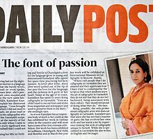 DAILY POST/ 7th Jan 2014! by kamaljeet kaur