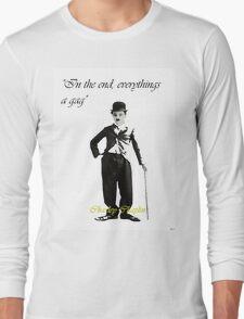 Lifes a Gag Long Sleeve T-Shirt