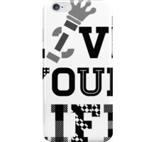Live Love Your Life Version 1 | OG Collection iPhone Case/Skin