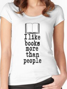 Books Women's Fitted Scoop T-Shirt