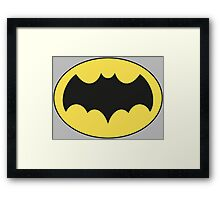 Batman '66 Framed Print