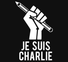 Je Suis Charlie I am Charlie T-Shirt by flippinsg