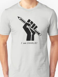 """I AM CHARLIE!""...French solidarity! Unisex T-Shirt"