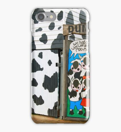 Moo Dunny iPhone Case/Skin