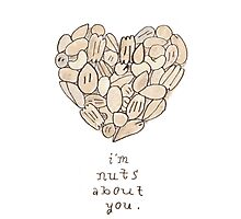 Nuts About You Photographic Print