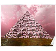 Crystal Pyramid Poster