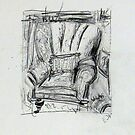 THE RESTING CHAIR by izzybeth
