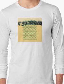 Digital Landscape #8 Long Sleeve T-Shirt