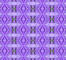 Purple Peacock Pattern by Scott Mitchell