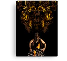 The Fire Keeper Canvas Print