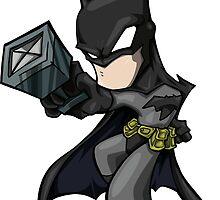 I'm BATMAN!!!!!! by Bunleungart