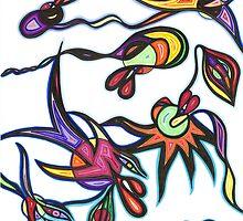 Creatures Carib by EyeDesignsInk