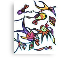 Creatures Carib Canvas Print